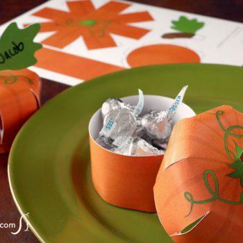 Printable Pumpkin Place Card