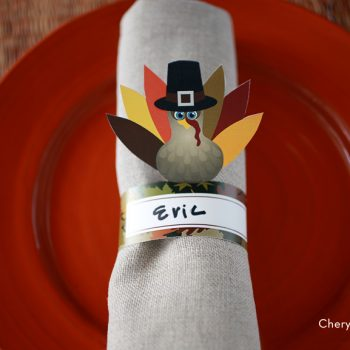 Printable Turkey Napkin Rings