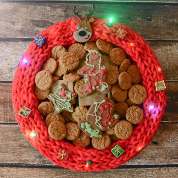 Christmas Sweater Serving Tray