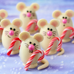 Christmas Mice Truffles