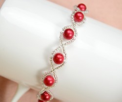 Pearl and Seed Bead Bracelet