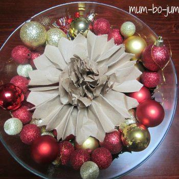 Rustic Brown Paper Flowers