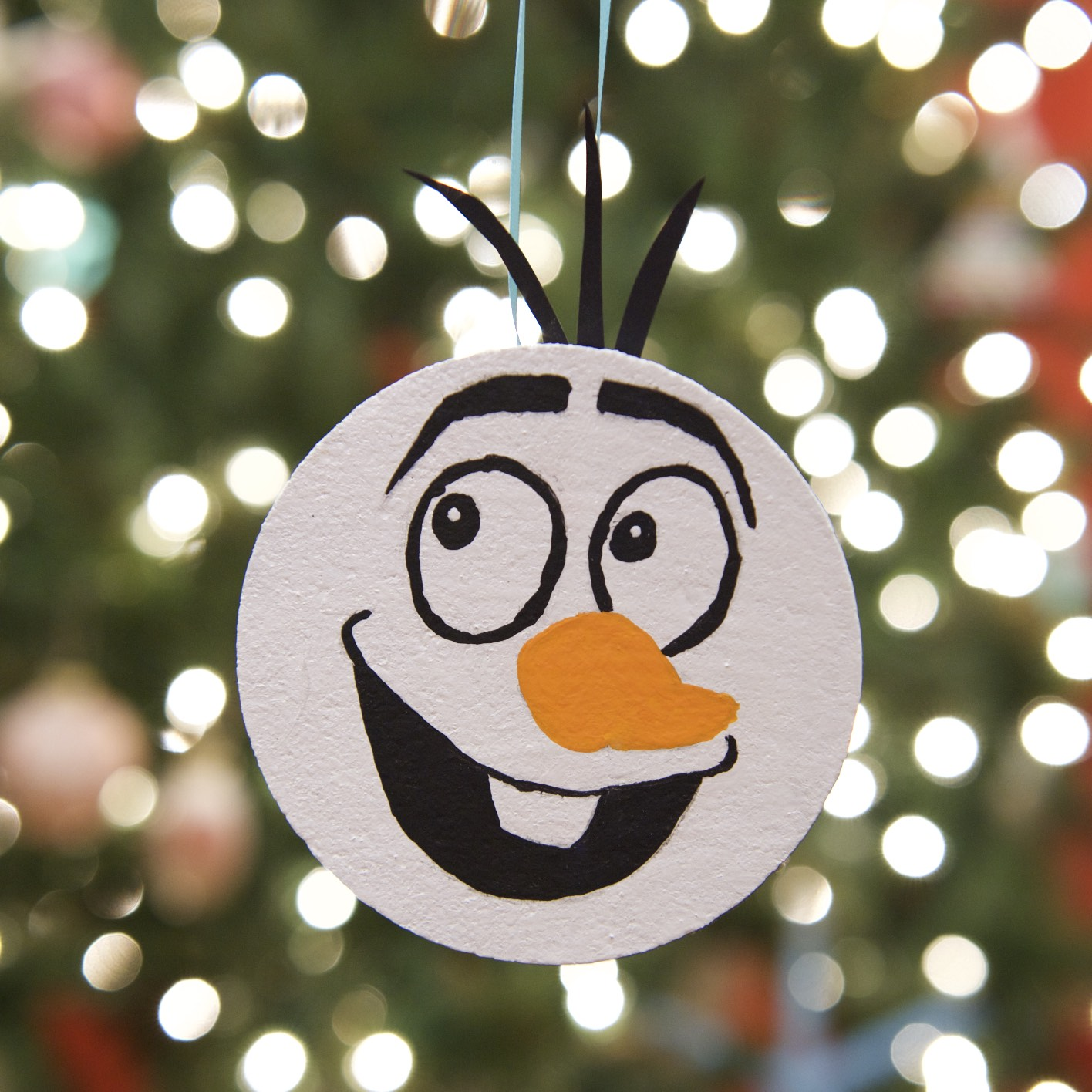 Olaf Christmas Ornament | Fun Family Crafts