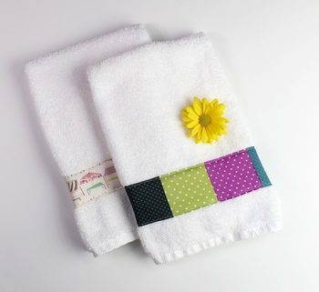Decorated Towels