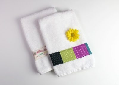 Decorated Hand Towels
