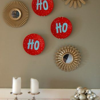 Holiday Plate Art