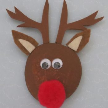 Reindeer Pet Rock