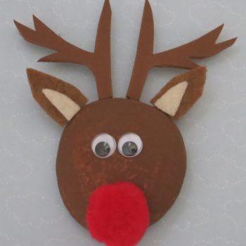 Reindeer Pet Rock