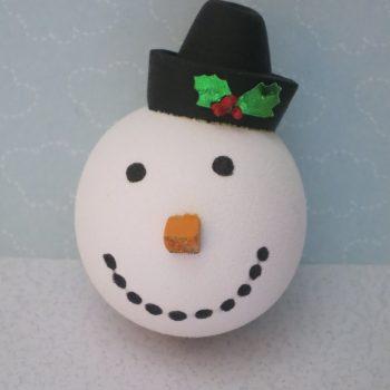 Snowman Pencil Topper