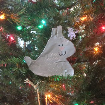 Wire and Washi Tape Ornament