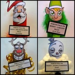 Christmas Mug Shots