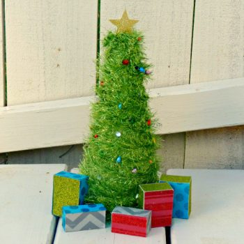 Mini Light-Up Christmas Tree