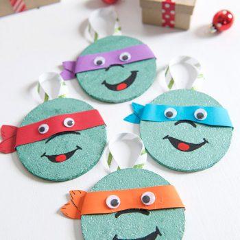 TMNT Coaster Ornaments