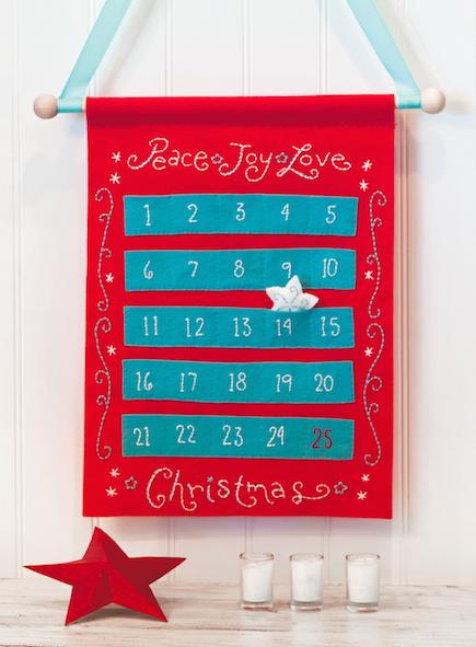 Peace, Joy, Love Advent Calendar