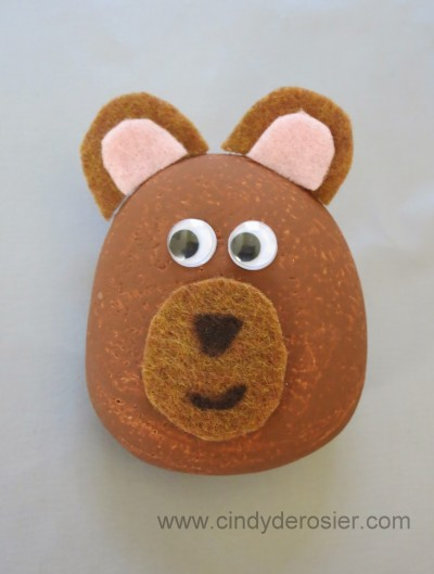 Bear Pet Rock