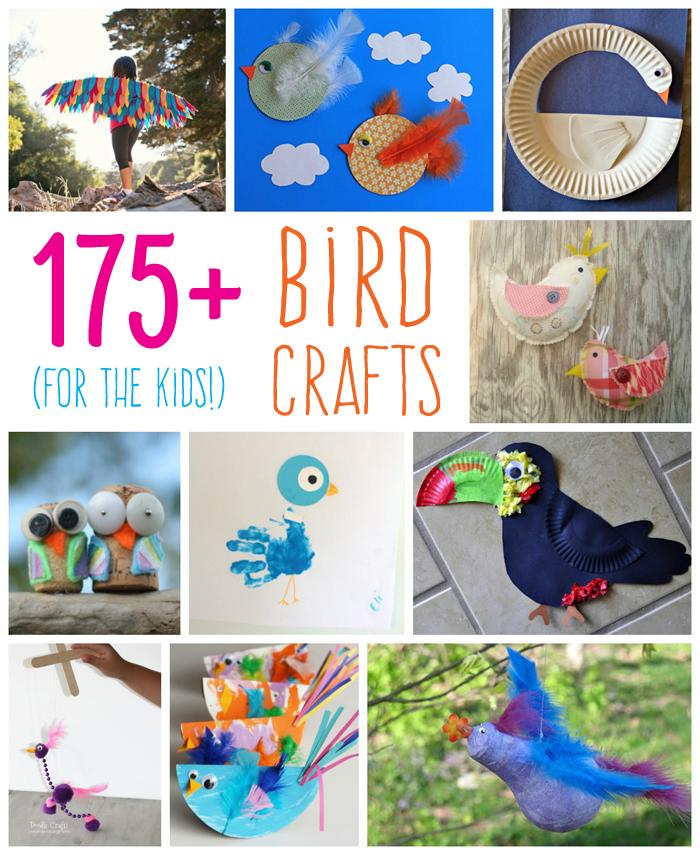175 Bird Crafts For Kids Fun Family Crafts