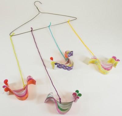 Paper Bird Mobile Fun Family Crafts