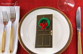 Christmas Card Place Settings