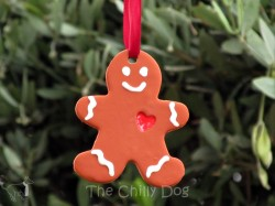 Mock Gingerbread Ornaments