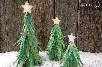 Cornhusk Christmas Tree