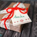 Cross Stitch Gift Tags
