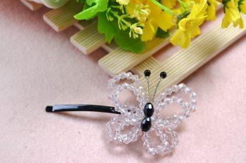 Crystal Butterfly Hair Clip