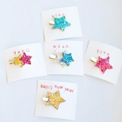 Glitter Hair Pins