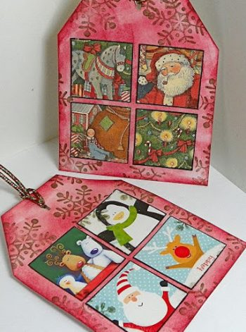 Upcycled Christmas Cards