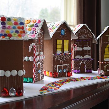 Gingerbread House Christmas Village
