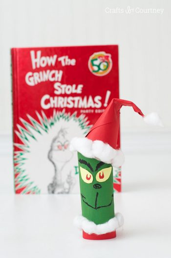Toilet Paper Roll Grinch