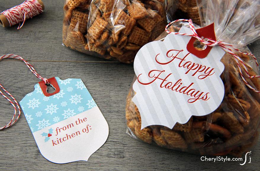 Food Gift Tags