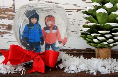 Personalized Mini Snow Globe
