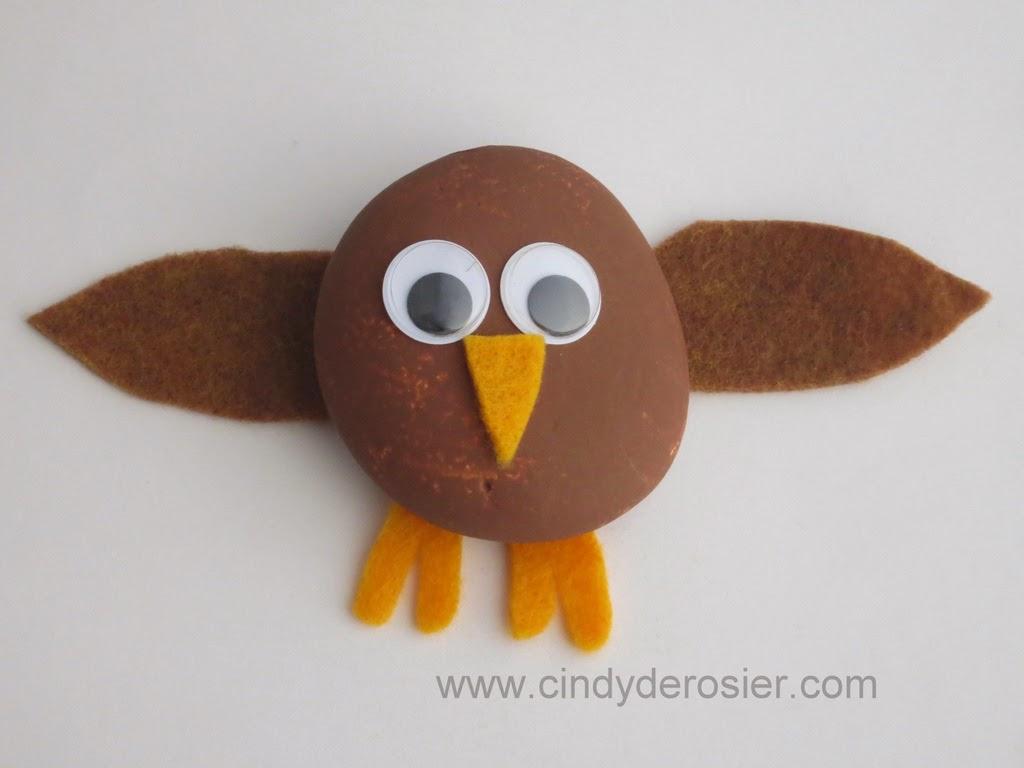 Owl Pet Rock