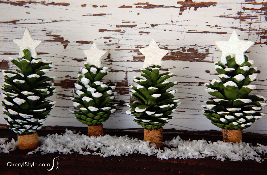 Pinecone christmas trees fun family crafts for Pine cone christmas tree craft
