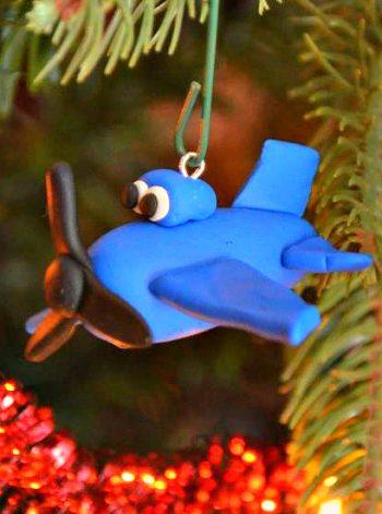 Airplane Ornaments