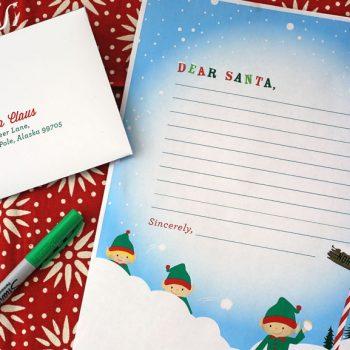 Printable Letter to Santa