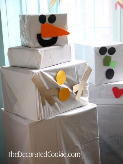 Cardboard Box Snowman Fun Family Crafts