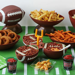 Cheese Dip Footballs