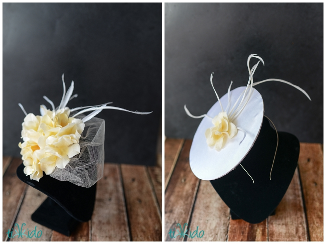 Feather Fascinator Hat