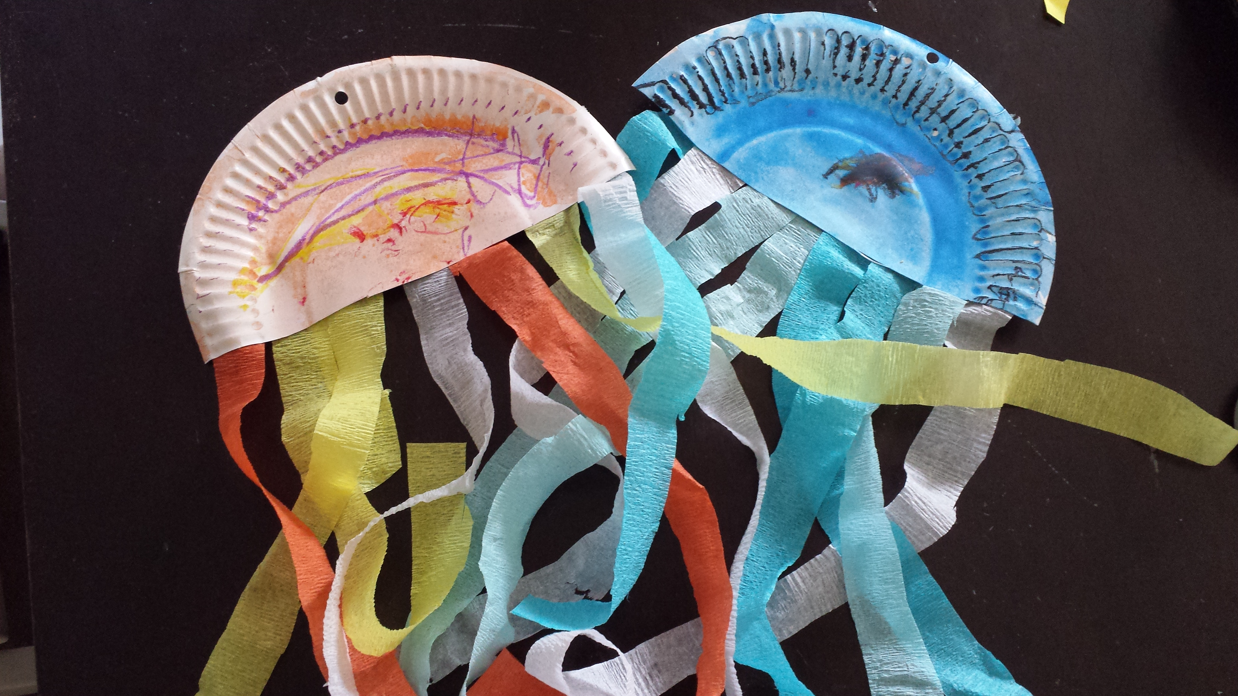 Paper Plate Jellyfish