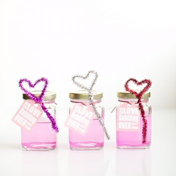 Pink Bubbles and Heart Blowers