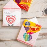 Heart Burst Valentine Envelopes
