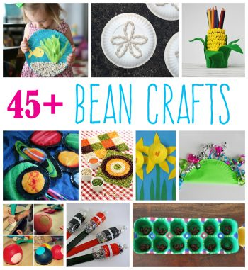 45+ Bean Crafts for Kids