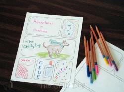 Printable Comic Book Pages