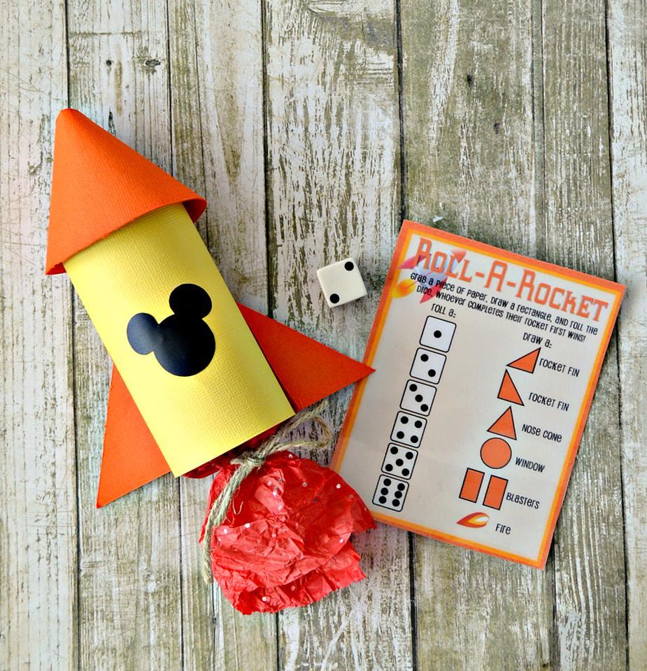 Disney Rocket Party Favor
