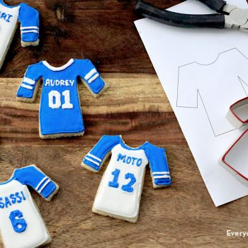 Jersey Cookie Cutters