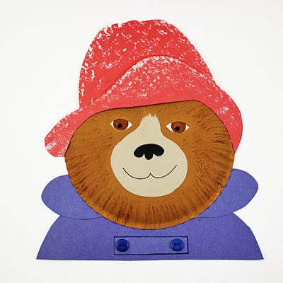 Paper Plate Paddington Bear