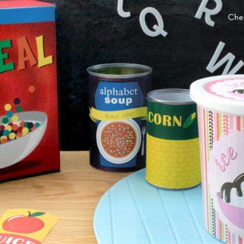 Printable Play Food Labels