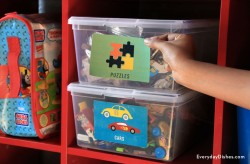 Printable Playroom Labels