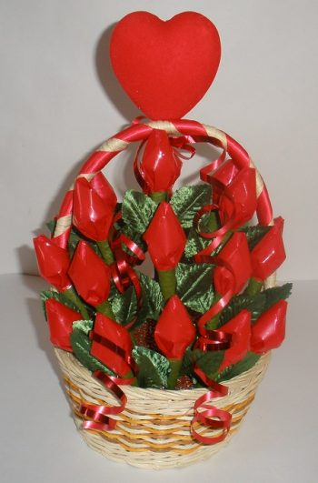 Hershey Kiss Roses Bouquet